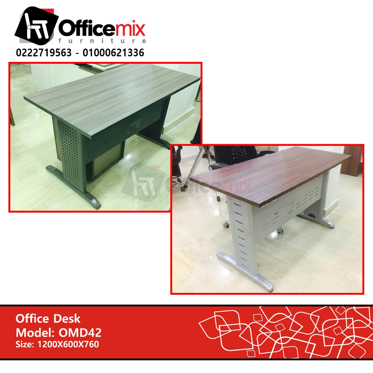 office mix Staff Desk D42